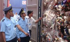 Sẽ cương quyết xuất trả lại phế liệu nhập khẩu