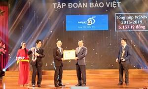 Tập đoàn Bảo Việt nộp ngân sách Nhà nước 23.000 tỷ đồng,  dự kiến chi trả 600 tỷ đồng cổ tức