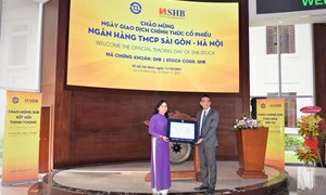 Chính thức giao dịch cổ phiếu SHB của Ngân hàng TMCP Sài Gòn – Hà Nội trên HOSE