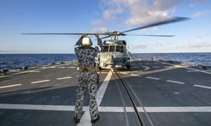 [Infographics] Siêu trực thăng săn ngầm Australia gặp nạn ở biển Philippine