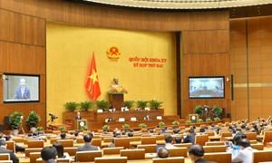 Trình Quốc hội dự thảo nghị quyết về thí điểm cơ chế, chính sách đặc thù phát triển một số tỉnh, thành phố