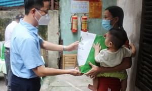 TP. Hà Nội đã hỗ trợ gần 3,9 triệu lượt người gặp khó khăn do COVID-19