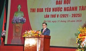 Bộ Tài chính tổ chức Đại hội Thi đua yêu nước ngành Tài chính lần thứ V