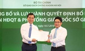 Bộ Tài chính nói gì về lãnh đạo Sở GDCK Hà Nội lên chức