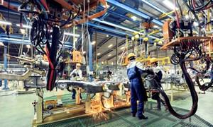Năm 2018, công nghiệp chế biến, chế tạo thu hút được nhiều vốn ngoại nhất