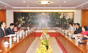Thứ trưởng Trần Xuân Hà tiếp Phó Chủ tịch Cơ quan giám sát Tài chính Hàn Quốc