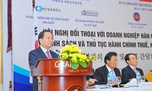 Bộ Tài chính đối thoại với Doanh nghiệp Hàn Quốc tại Việt Nam về lĩnh vực thuế, hải quan
