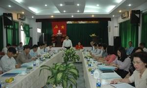 Bộ trưởng Vương Đình Huệ làm việc với TP.Hồ Chí Minh về tình hình thu chi NSNN năm 2012