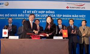 Sumitomo Life trở thành đối tác chiến lược mới của Tập đoàn Bảo Việt