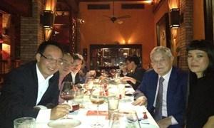 George Soros - tỷ phú giàu thứ 22 thế giới bất ngờ xuất hiện ở Hà Nội