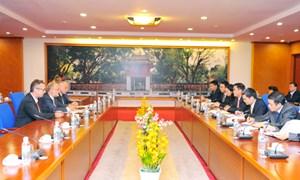 Tăng cường hợp tác tài chính giữa Việt Nam và Luxembourg