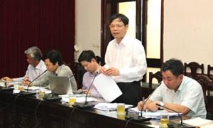 Lãnh đạo Ban Kinh tế Trung ương làm việc với Bộ Giao thông Vận tải
