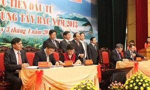 BIDV tham gia Hội nghị xúc tiến Đầu tư và An sinh xã hội khu vực Tây Bắc năm 2013