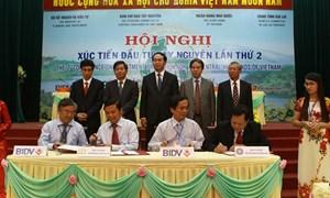 Hội nghị xúc tiến đầu tư Tây Nguyên lần thứ 2 năm 2013: Huy động nguồn lực, tạo đà cho Tây Nguyên phát triển bền vững