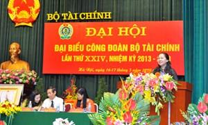 Đại hội đại biểu Công đoàn Bộ Tài chính lần thứ XXIV