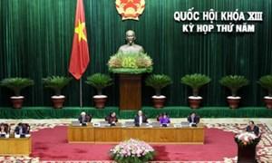 Quốc hội thảo luận 4 dự án luật