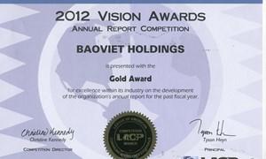Báo cáo thường niên và Báo cáo phát triển bền vững của Tập đoàn Bảo Việt đạt giải nhiều giải thưởng quốc tế