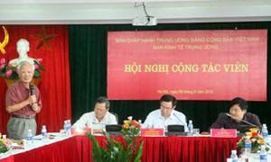 Các chuyên gia và nhà khoa học đánh giá cao hoạt động  của Ban Kinh tế Trung ương