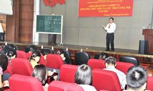 Cục Thuế TP. Hà Nội: Bồi dưỡng nghiệp vụ cho công chức mới