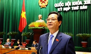 Thủ tướng Chính phủ trình bày Báo cáo về tình hình kinh tế-xã hội