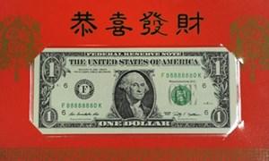 Mỹ phát hành đồng tiền may mắn Tết Giáp Ngọ 2014