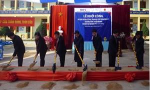 BIDV tài trợ xây dựng nâng cấp Trường Tiểu học và THCS Võ Nguyên Giáp tại Điện Biên