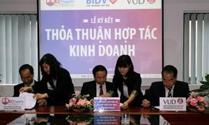 BIDV Tây Hồ ký thỏa thuận hợp tác với EZ Land và VUD