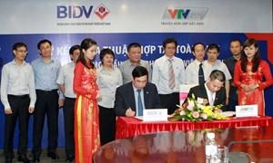 BIDV ký thỏa thuận hợp tác toàn diện với VTVcab