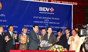 BIDV và Chính phủ Lào ký Hợp đồng Tín dụng thực hiện Dự án giao thông tại Lào