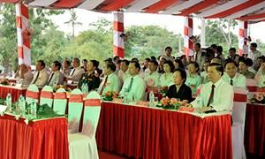 Bảo Việt công đức 5 tỷ đồng  nâng cấp, xây dựng Nghĩa trang Liệt sỹ Quốc gia Đường 9