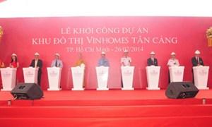 Vingroup khởi công siêu dự án khu đô thị Vinhomes Tân Cảng