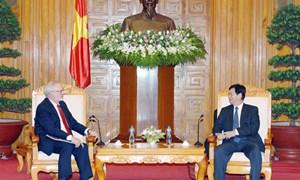 Thủ tướng Chính phủ Nguyễn Tấn Dũng tiếp Đại sứ Hoa Kỳ