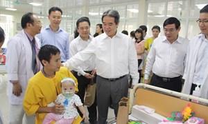 Khánh thành khu hồi sức cấp cứu và hồi sức ngoại Bệnh viện Nhi TƯ do BIDV tài trợ