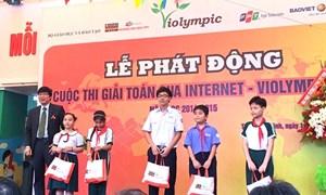 """Bảo Việt Nhân thọ chính thức đồng hành cùng """"Cuộc thi Giải toán qua Internet - ViOlympic"""""""