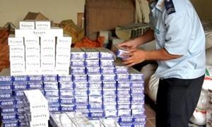 Đồng Tháp bắt giữ trên 110.000 gói thuốc lá lậu
