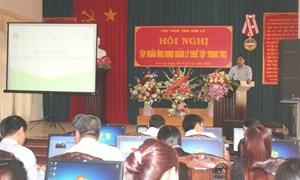 Cuc Thuế tỉnh Sơn La tập huấn Hệ thống quản lý thuế tập trung cho hơn 200 lượt cán bộ, công chức thuế