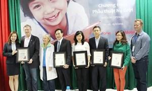 BAOVIET Bank tài trợ phẫu thuật nụ cười