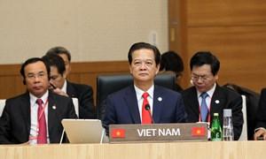 Thủ tướng Nguyễn Tấn Dũng tham dự Hội nghị cấp cao kỷ niệm 25 năm quan hệ đối thoại ASEAN – Hàn Quốc