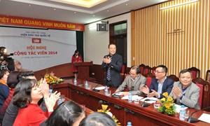 Viện Đào tạo Quốc tế tổ chức thành công Hội nghị Cộng tác viên năm 2014