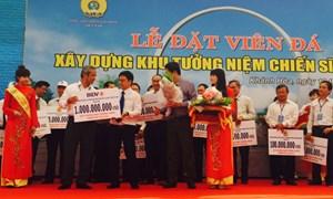BIDV ủng hộ 1 tỷ đồng xây dựng đài tưởng niệm liệt sỹ trên đảo Gạc Ma