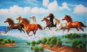 Bài trí biểu tượng ngựa trong nhà để sinh tài lộc