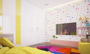 Không gian đầy màu sắc dành cho trẻ em