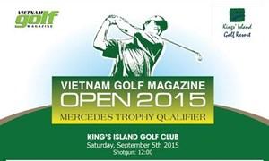 """Giải """"Vietnam Golf Magazine Open 2015"""" sẽ được tổ chức tại Hà Nội"""