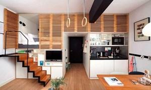 Thiết kế đầy sáng tạo cho căn hộ 25m2
