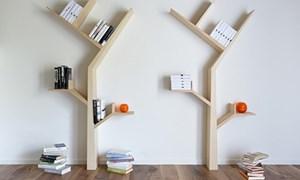 Độc đáo tủ sách