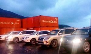 Đà Nẵng tịch thu 5 xe Lexus lậu sung công quỹ