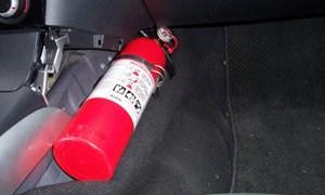 Phạt 500.000 đồng nếu ô tô không bình cứu hỏa