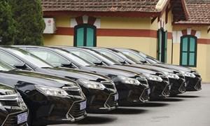 Rà soát, sắp xếp lại số xe ô tô phục vụ công tác chung