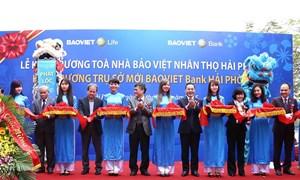 BAOVIET Bank khai trương trụ sở mới Chi nhánh Hải Phòng