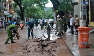 Hỗ trợ các địa phương khắc phục mưa, bão